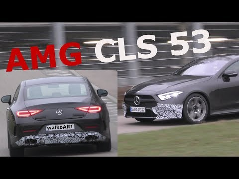Mercedes Erlkönig - Mercedes-AMG CLS 53 4MATIC C257 prototype 2018 - 4K SPY VIDEO