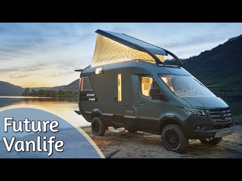 Die Zukunft des Wohnmobils - Vanlife VisionVenture by Hymer | Vorstellung & Roomtour
