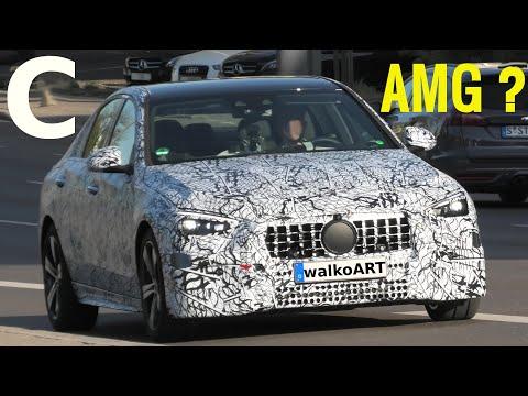 Mercedes Erlkönig C-Klasse C-Class W206 AMG Version * C43? C53? 4K SPY VIDEO