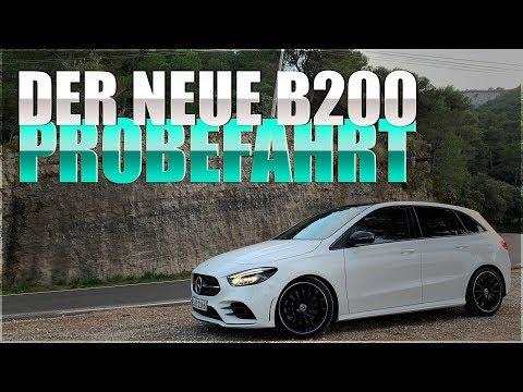 Mercedes Benz B200 PROBEFAHRT & Mercedes MBUX Test deutsch