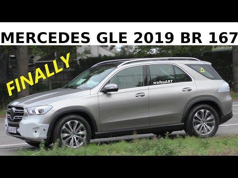 Mercedes-Erlkönig - Finally: GLE 2019 BR 167 - Erlkönig prototype 4K SPY VIDEO