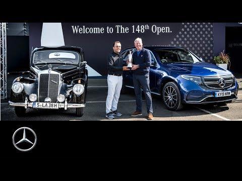 Mercedes-Benz EQC (2019) at The 148th Open: Return of the Claret Jug