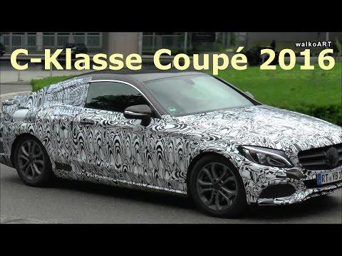 ART! Erlkönig C-Klasse Coupé 2016 beim Mercedes-Benz Museum Stuttgart - Mercedes C-Class Coupe C205