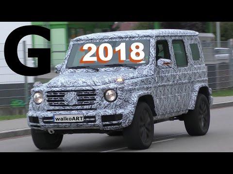 Mercedes Erlkönig G-Klasse G-Class 2018 W464 auf der Straße - spotted on the road 4K-SPY VIDEO