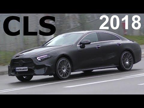 """Mercedes Erlkönig """"Darth Vader"""" CLS 2018 fast ungetarnt C257 -Successor CLS almost undisguised"""