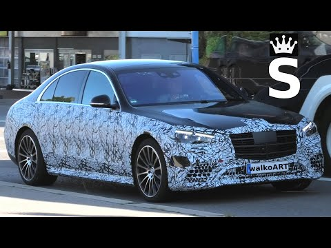 Mercedes Erlkönig BLACK S-KING W223 for fans only * S-Klasse 2020 nur für Fans * 4K SPY VIDEO