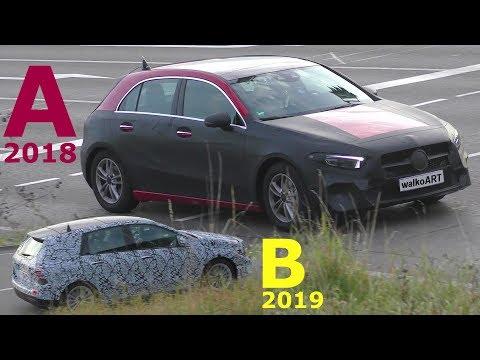 Mercedes Erlkönig A-Class A-Klasse 2018 NEWS W177 + Bonus B-Class B-Klasse W247 2019 4K SPY VIDEO