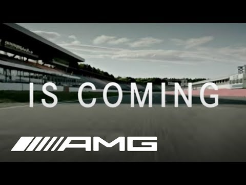 Mercedes-AMG: Something fast is coming.