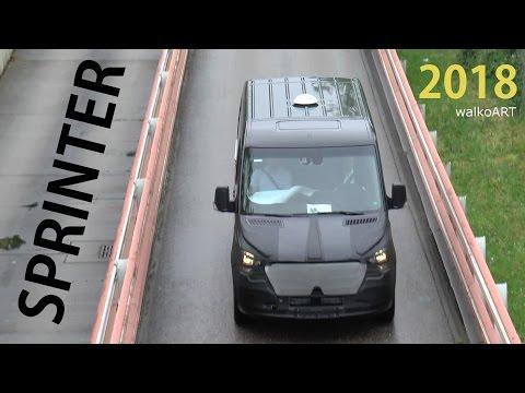 Mercedes Erlkönig - Mercedes-Benz SPRINTER prototype 2018 spotted - SPY VIDEO