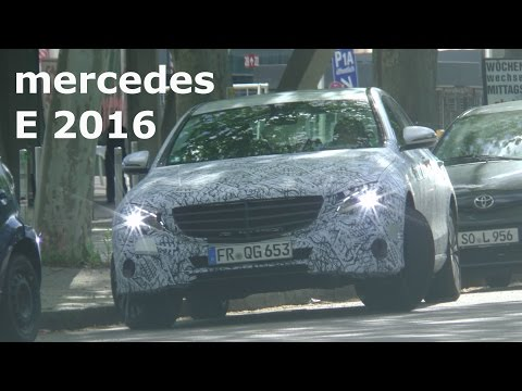 Erlkönig Mercedes E-Klasse 2016 im Mai 2015 / Mercedes E-Class 2016 prototype W213