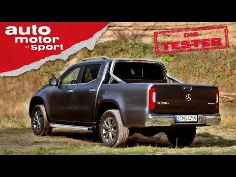 Mercedes X250d: Nur ein Nissan mit Stern? - Test/Review   auto motor und sport