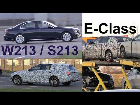 Mercedes W213 / S213 E-Klasse E-Class 2016/2017 spotted - Erlkönig spezial - Prototype special