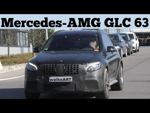 Mercedes Erlkönig Mercedes-AMG GLC 63 X253 prototype 4K SPY VIDEO