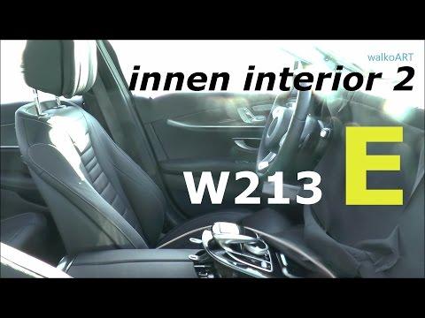 Mercedes Erlkönig E-Klasse 2016 Innenraum Teil 2 - Interior Part 2 Prototype W213 E-Class 2017