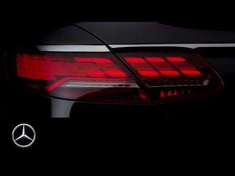 Mercedes-Benz S-Class Coupé and Cabriolet – Teaser | IAA 2017