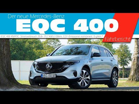 Der neue Mercedes-Benz EQC 400 4MATIC I Deutsch I 4 k review// Die Anders Testfahrt