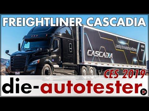 2019 CES Las Vegas: Freightliner Cascadia Weltpremiere Neu | LKW | Review | Deutsch