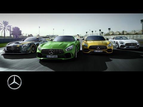 Mercedes-AMG GT: The GT Family at Bilster Berg Pt. 1