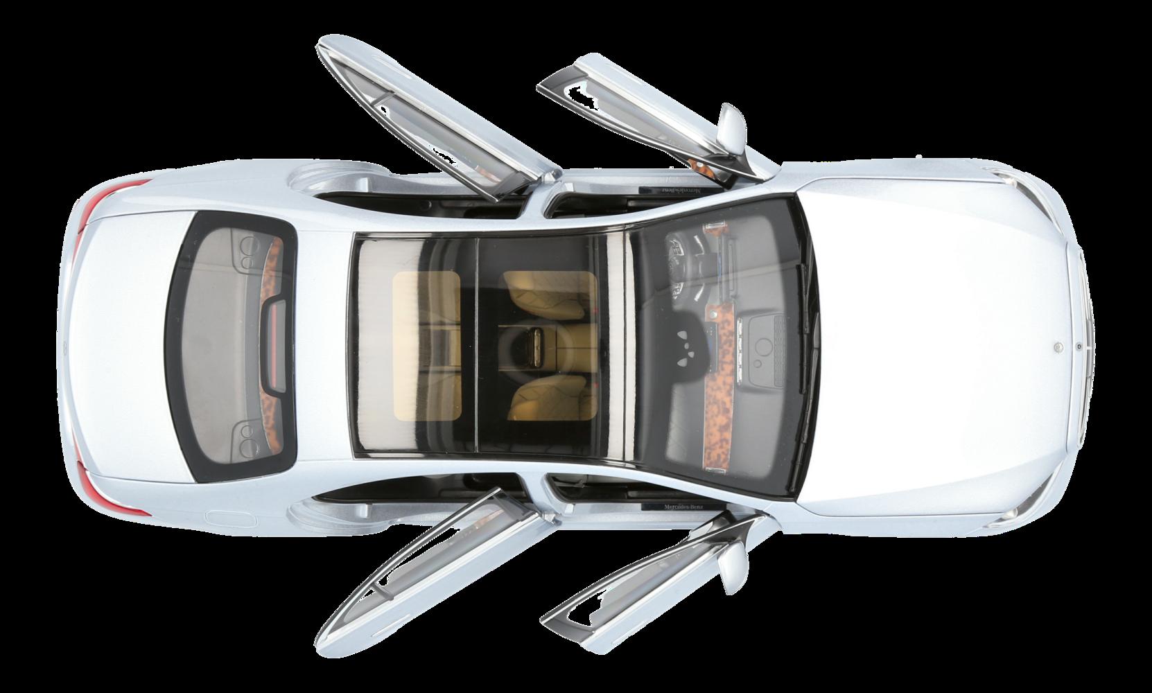 Erstes Modellauto der neuen S-Klasse im Maßstab 1:18 erhältlich