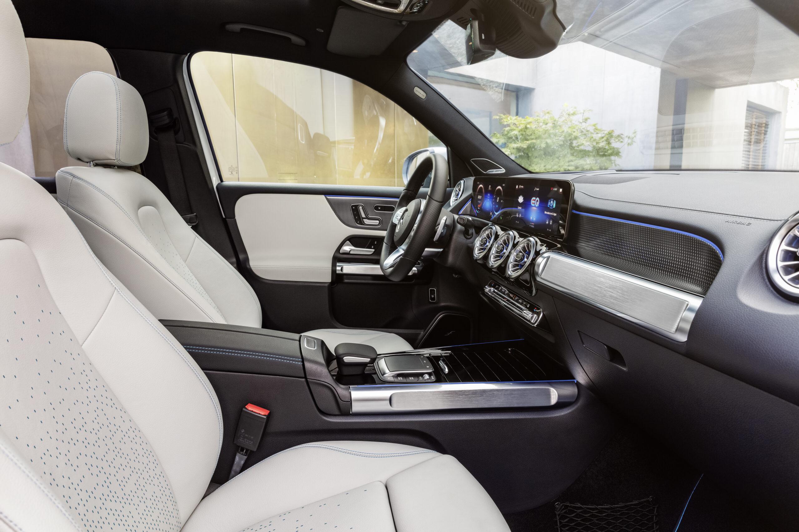 Erster Blick auf das EQB Modell von Mercedes-EQ