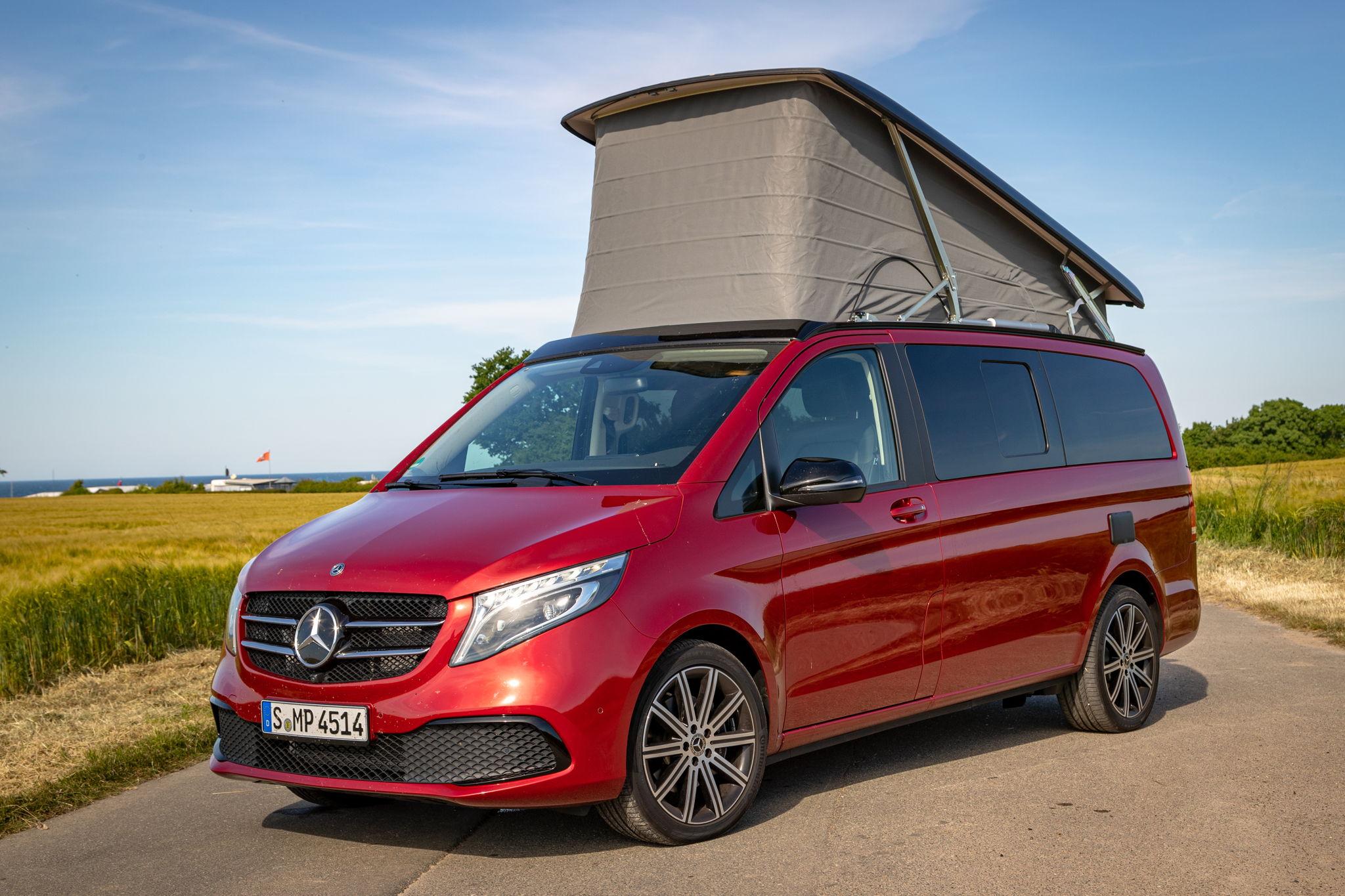 Raus aus dem Alltag & mit Marco Polo Unabhängigkeit genießen #VanLife #Mercedes