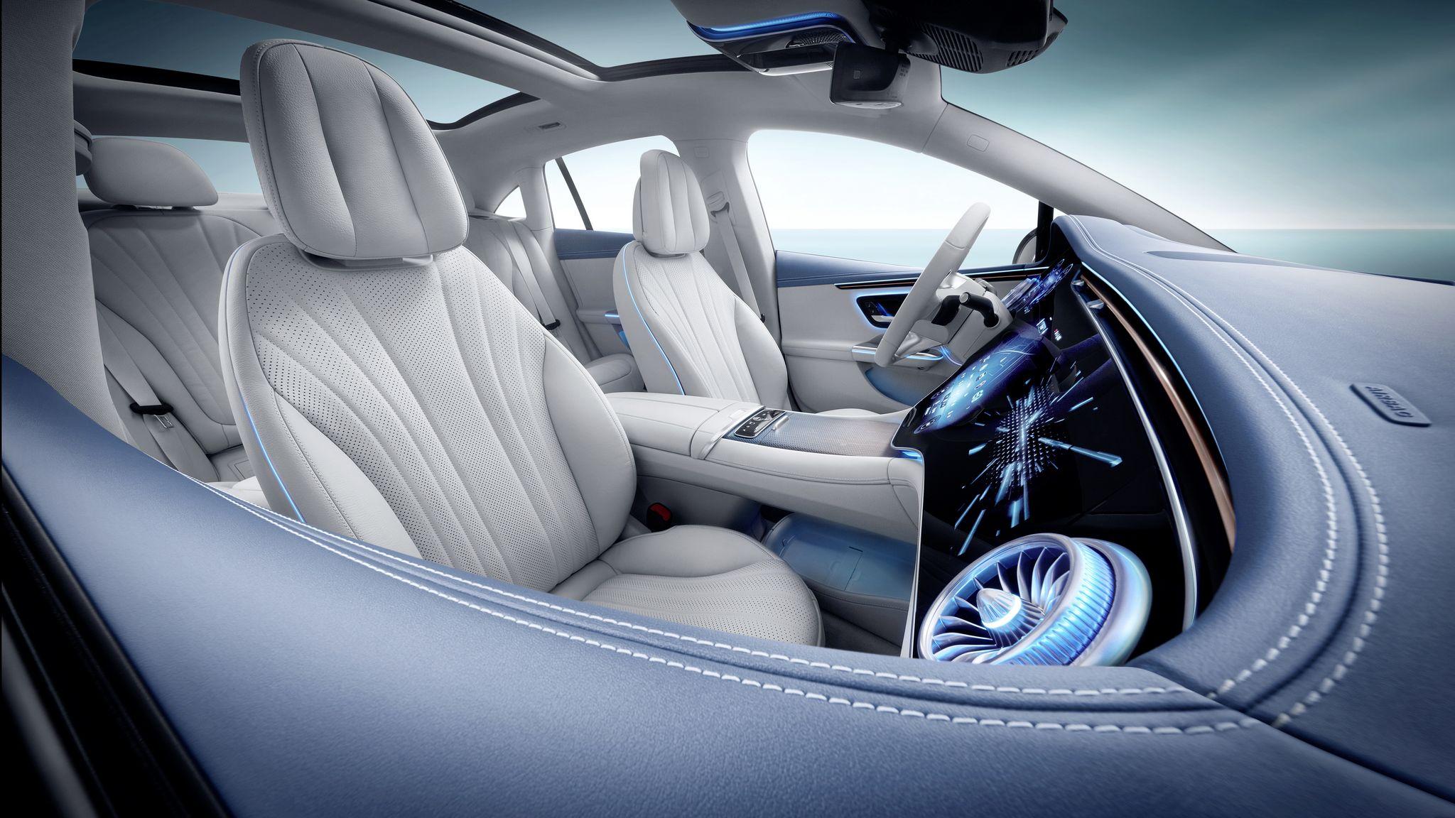 Details zum ENERGIZING COMFORT des neuen EQE von Mercedes-Benz