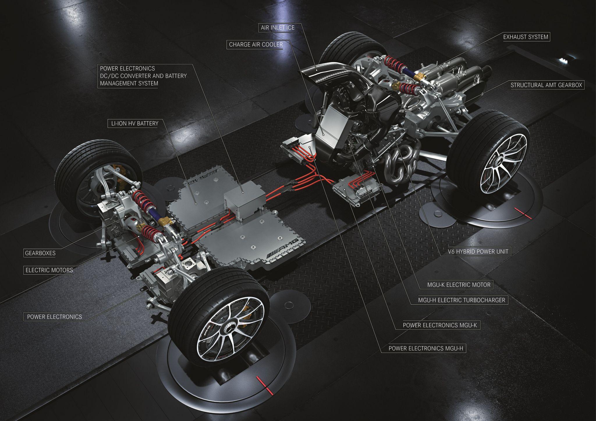 AMG One Auslieferung erfolgt nun frühestens ab Mitte 2022
