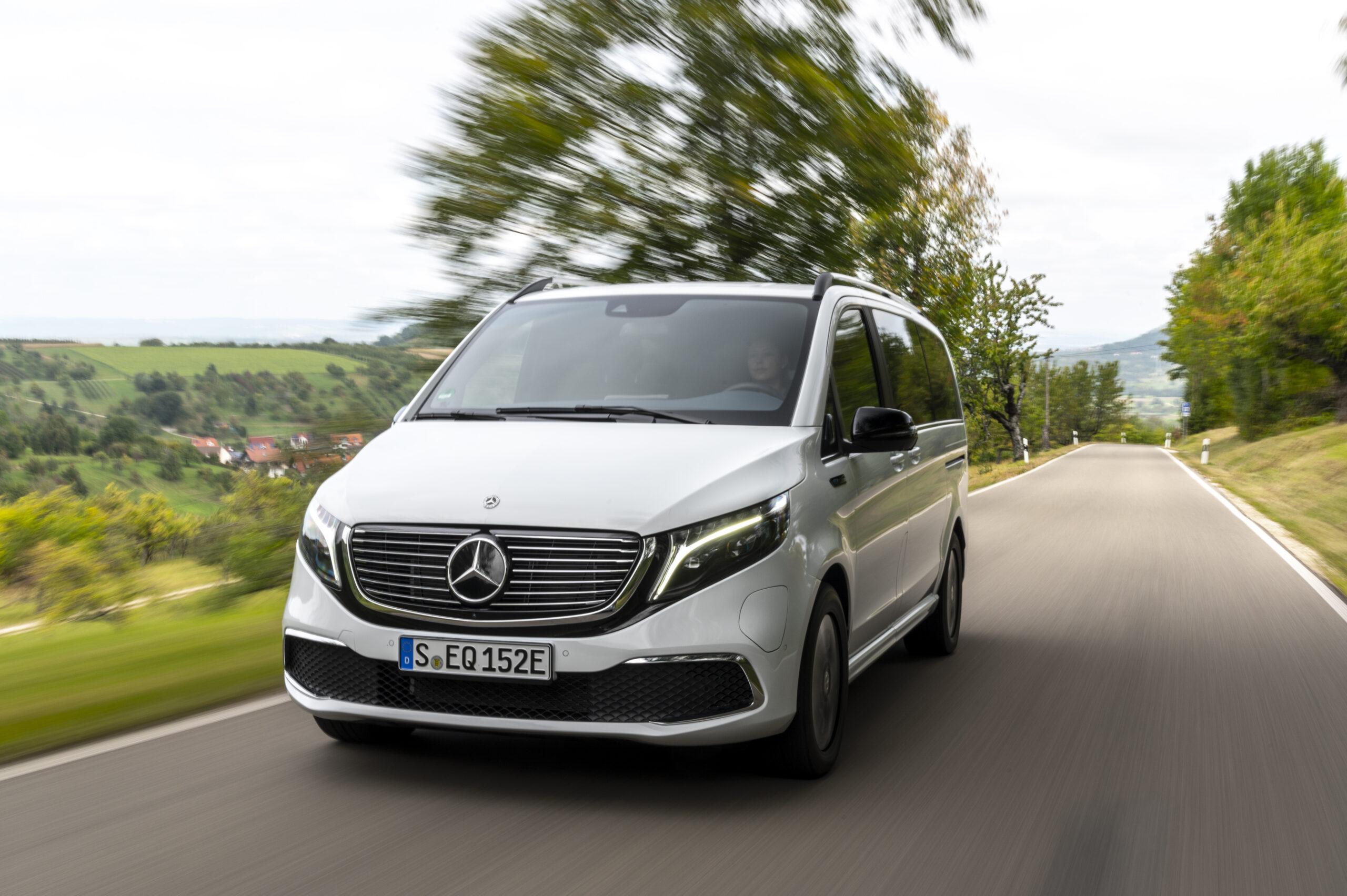 Die Unterschiede von EQV 250 und EQV 300 von Mercedes-Benz