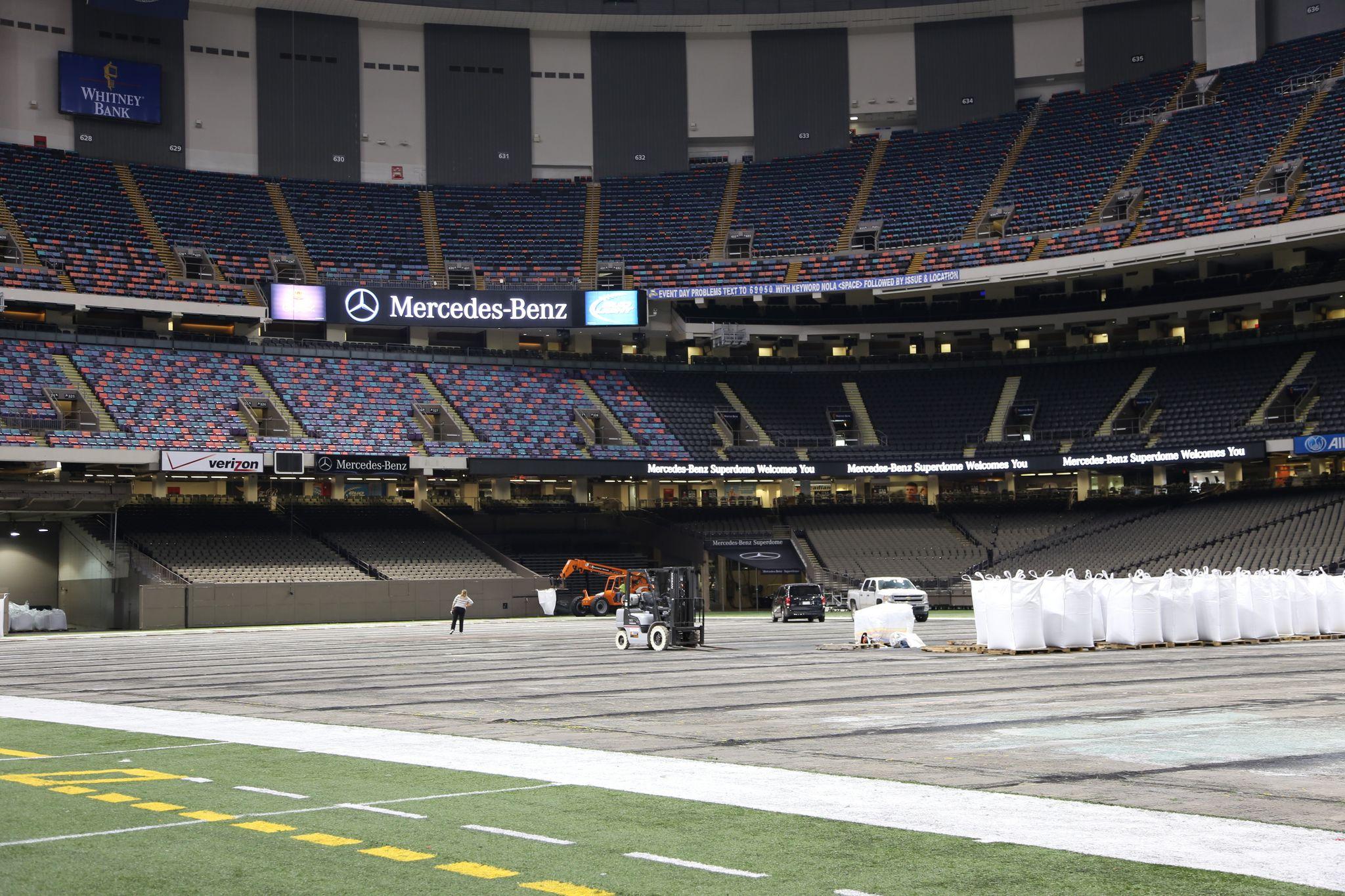 Mercedes-Benz verzichtet auf Sponsoring des Superdomes in New Orleans