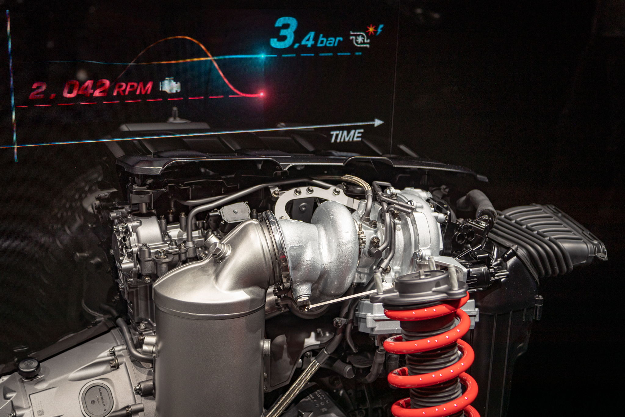 Mehr Details zum elektrischem Abgas-Turbolader von Mercedes-AMG