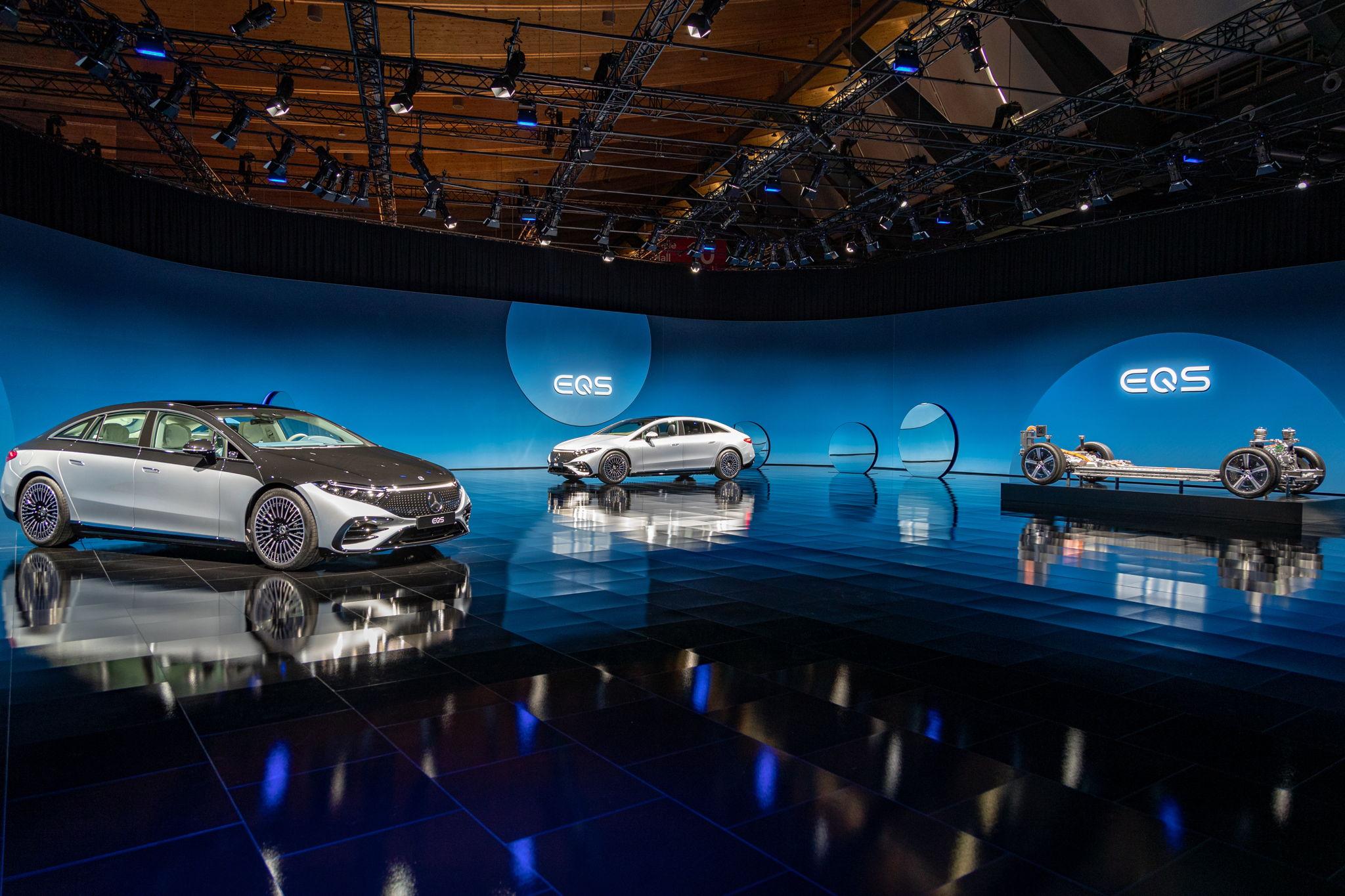 Das ist der EQS – alle Infos und Bilder des Serienmodells von Mercedes-EQ