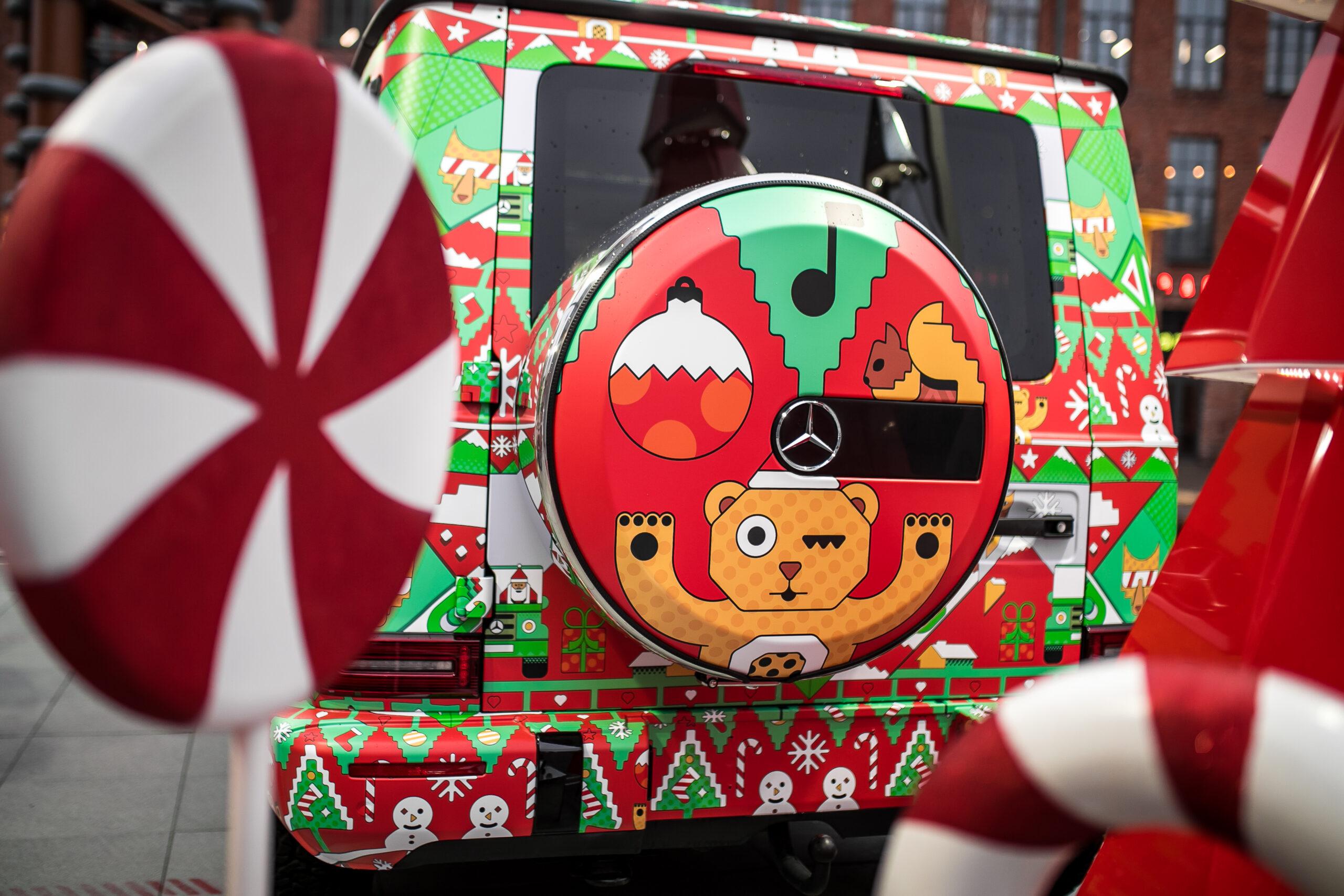 Mercedes-Benz zeigt in Moskau G Klassen im