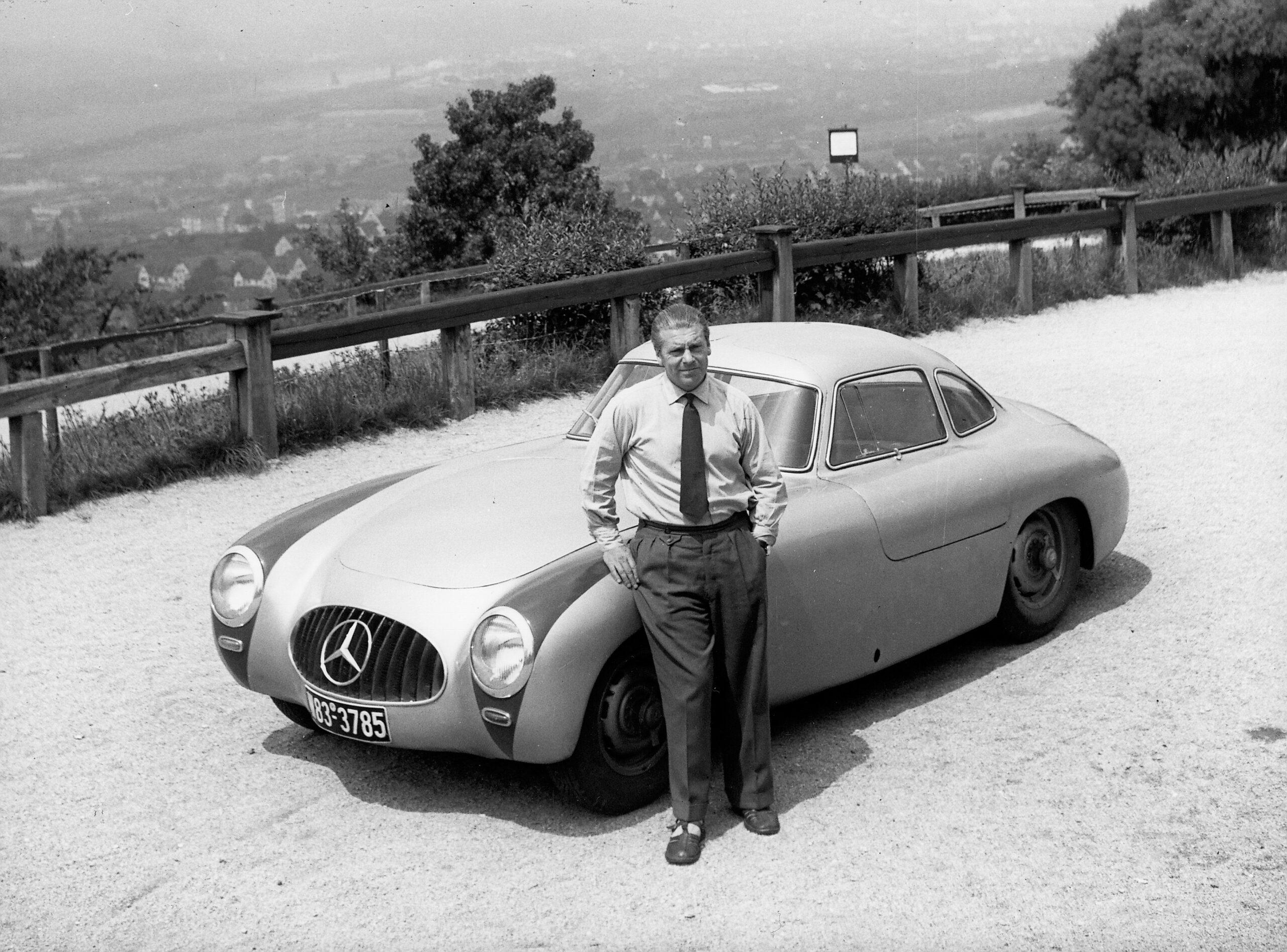 Rudolf Uhlenhaut - ein Glücksfall für das Unternehmen mit Stern
