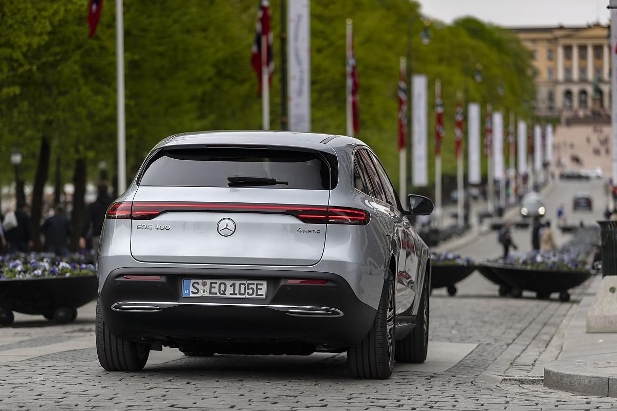 Mercedes-Benz reduziert EQC Grundpreis und Ausstattung