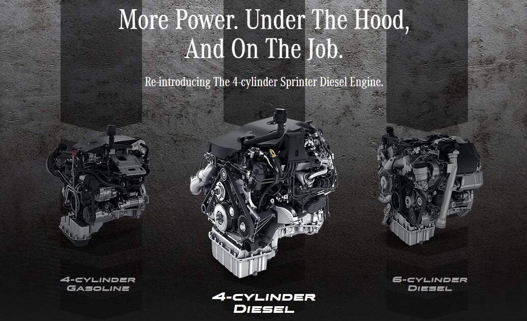 4-Zylinder Dieselsprinter startet auf dem kanadischen Markt