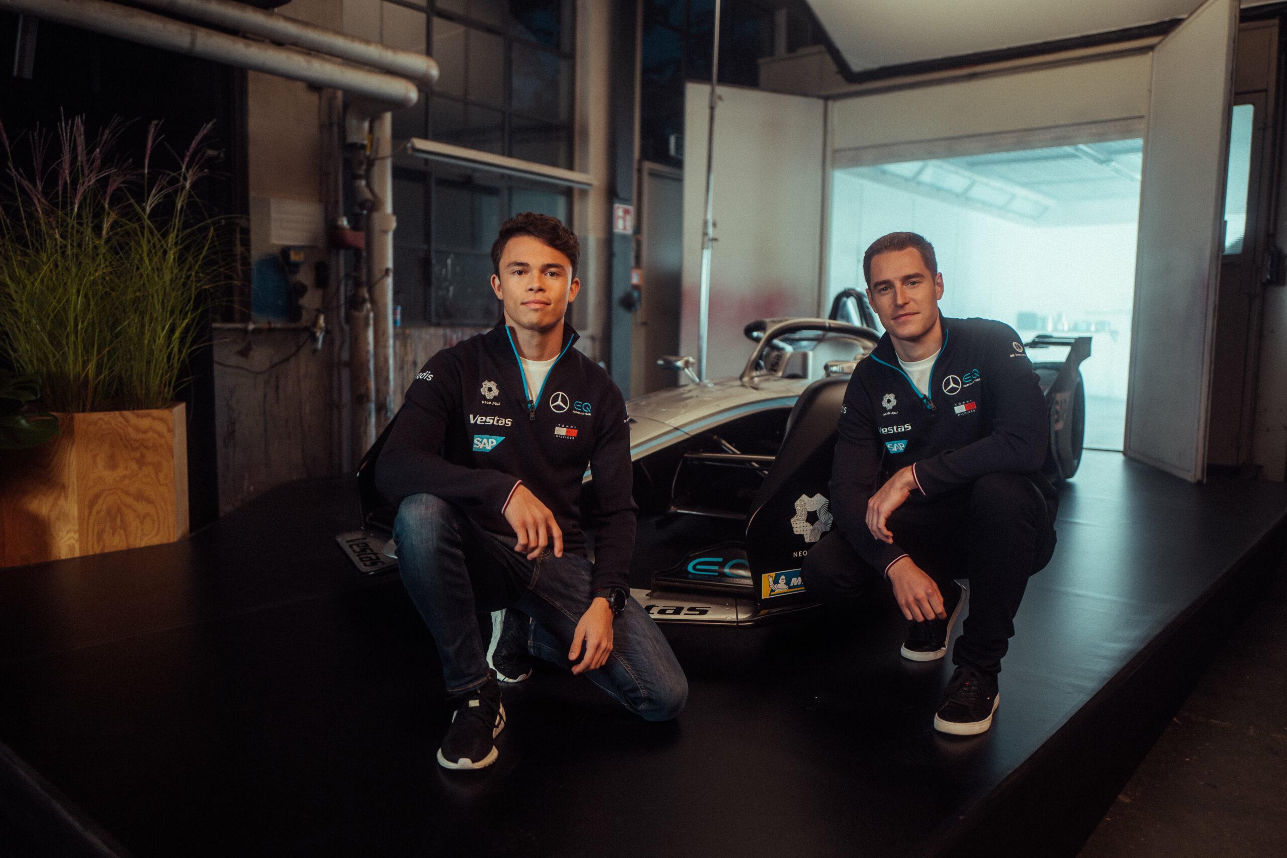Der Mercedes-Benz EQ Silver Arrow 02 für die Saison 7