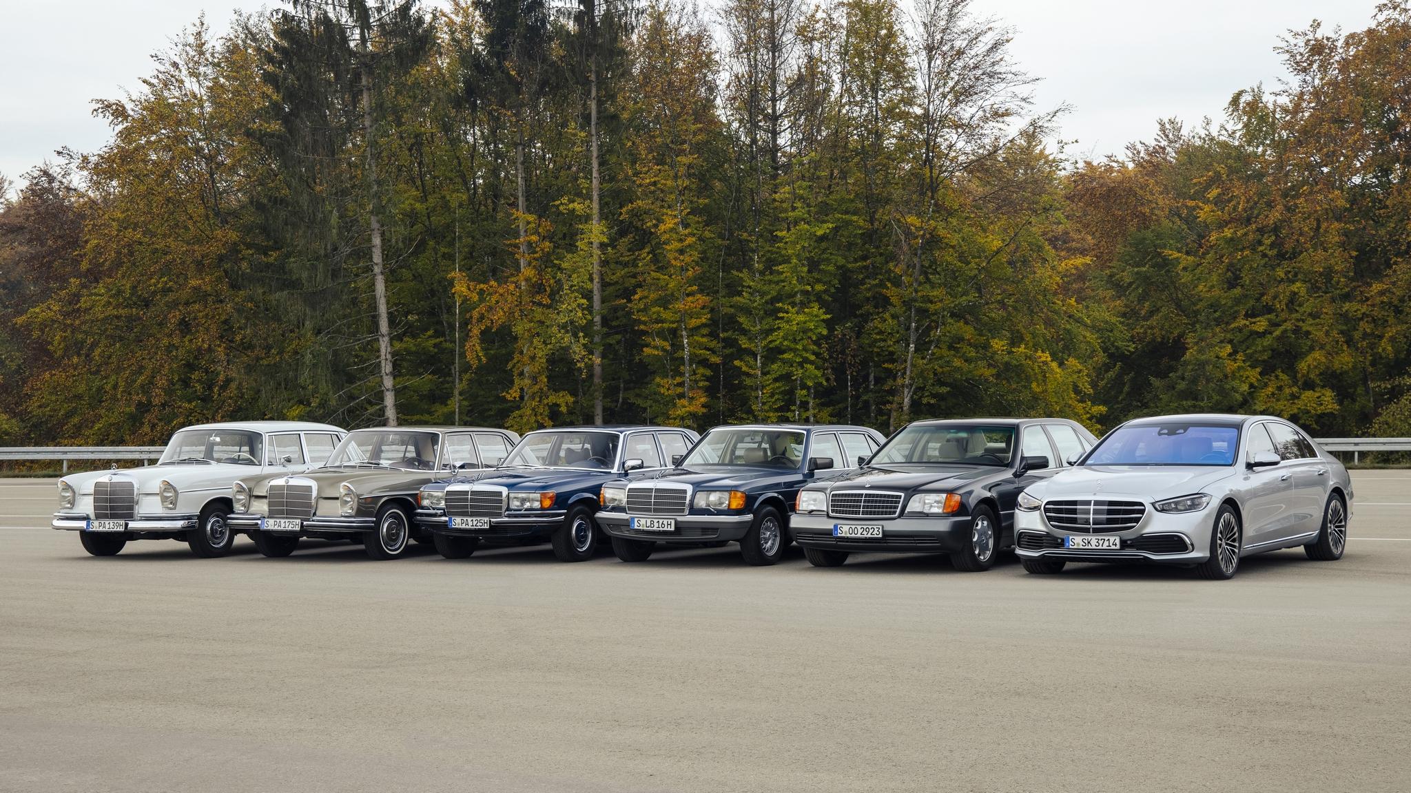 Mercedes-Benz S-Klasse: Generation S