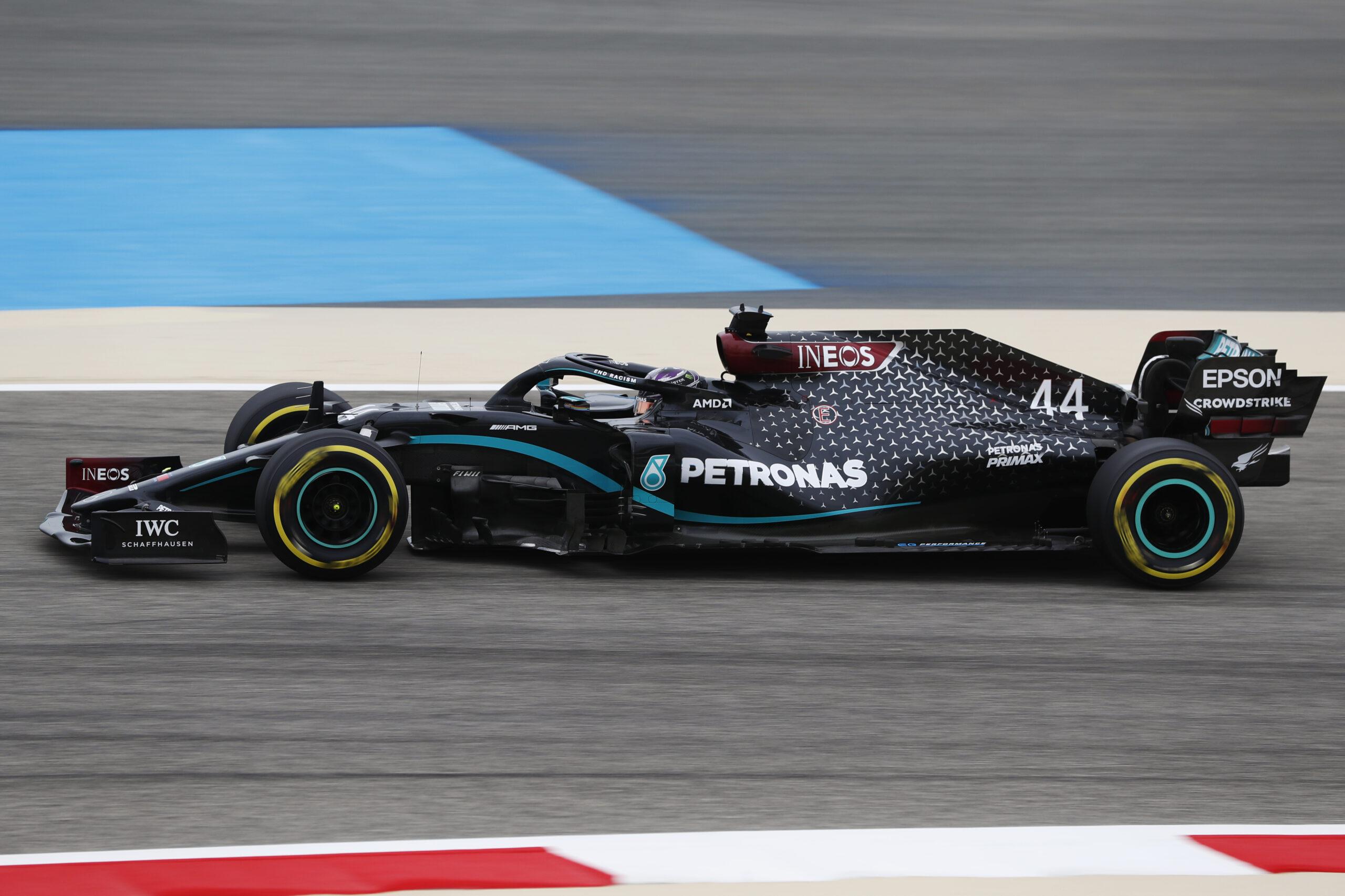 #F1: Sieg für Lewis Hamilton in Bahrain