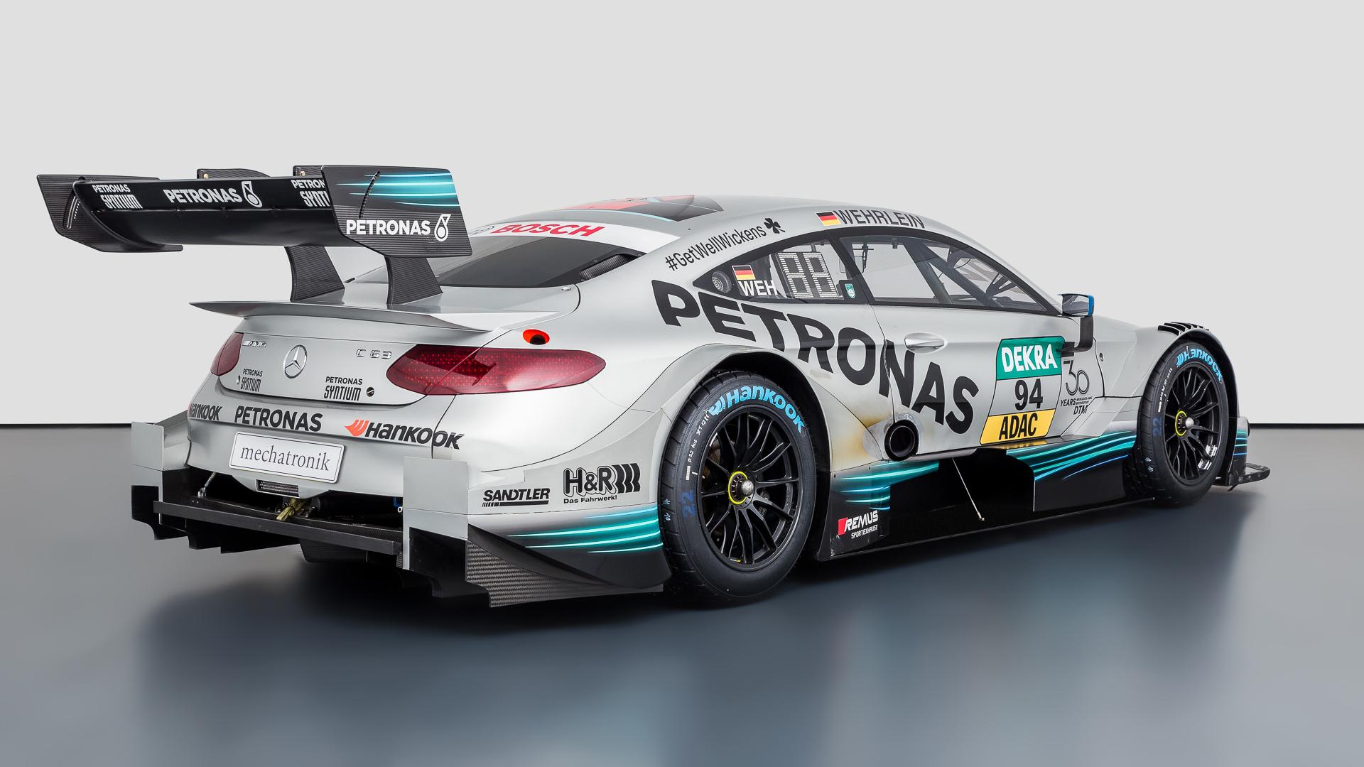 Originales AMG DTM Fahrzeug der Saison 2018 steht zum Verkauf