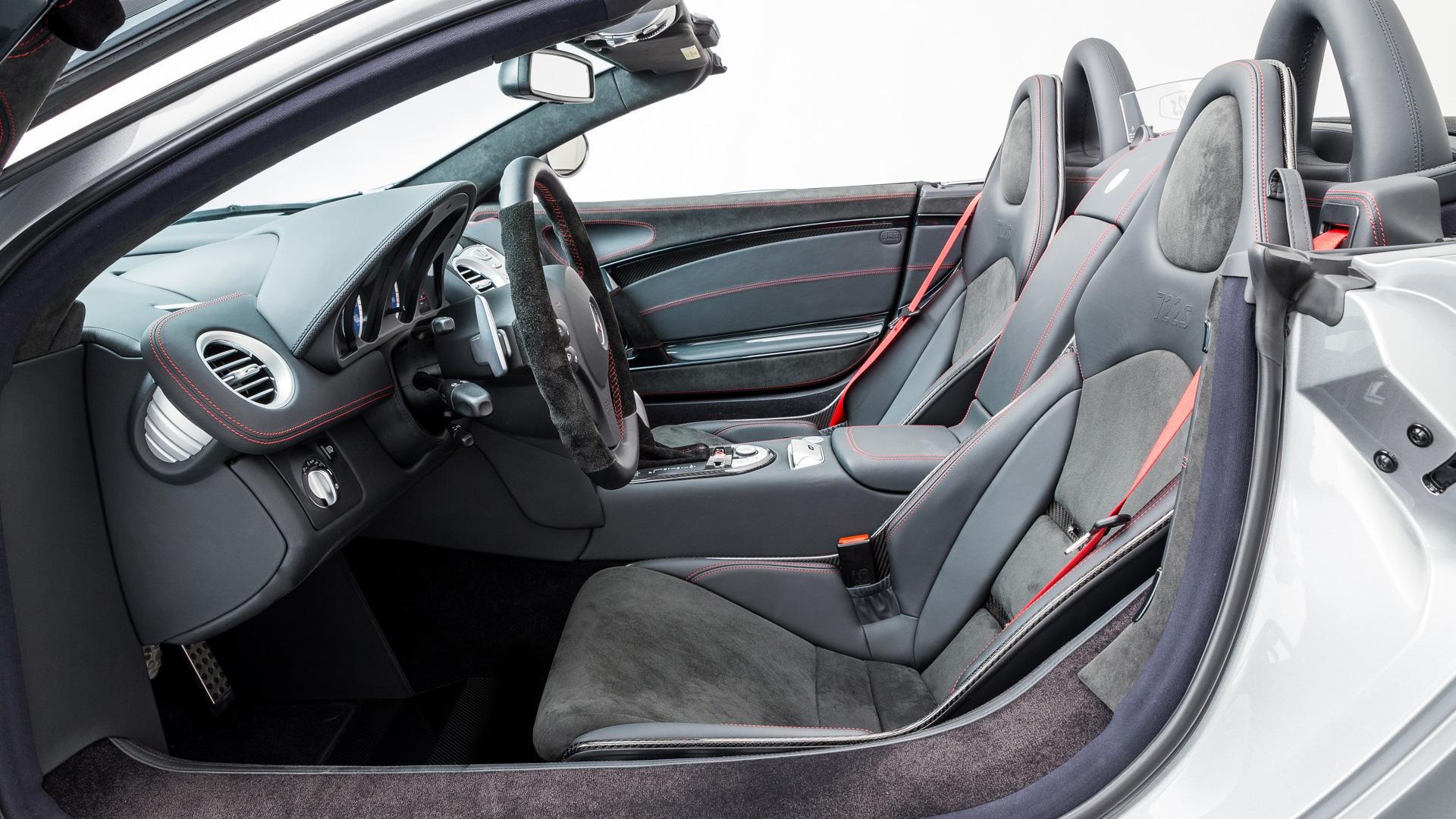 Mercedes-Benz SLR McLaren 722 S Roadster steht zum Verkauf