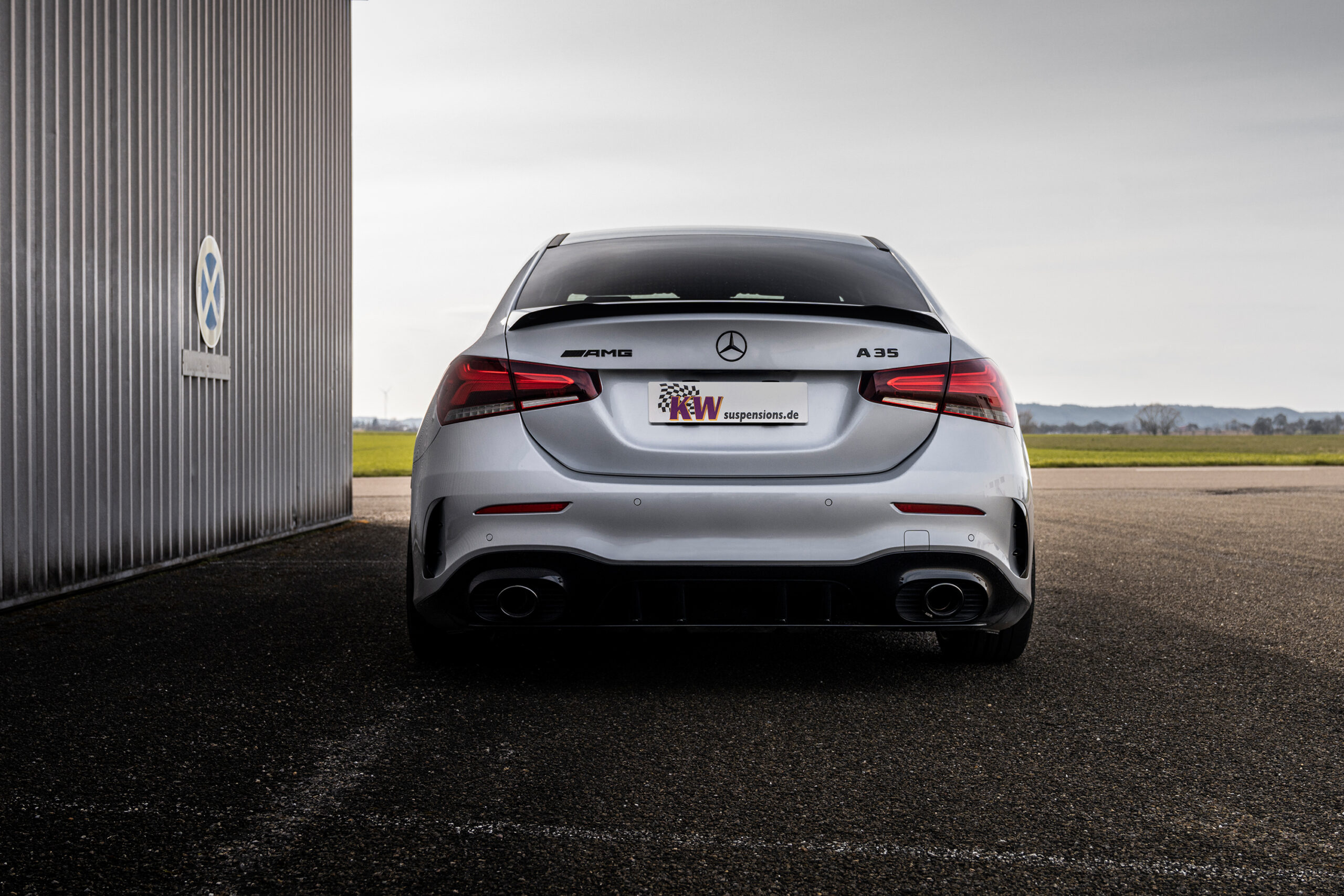 Fahrdynamikupdate für A-Klasse Modelle von KW automotive