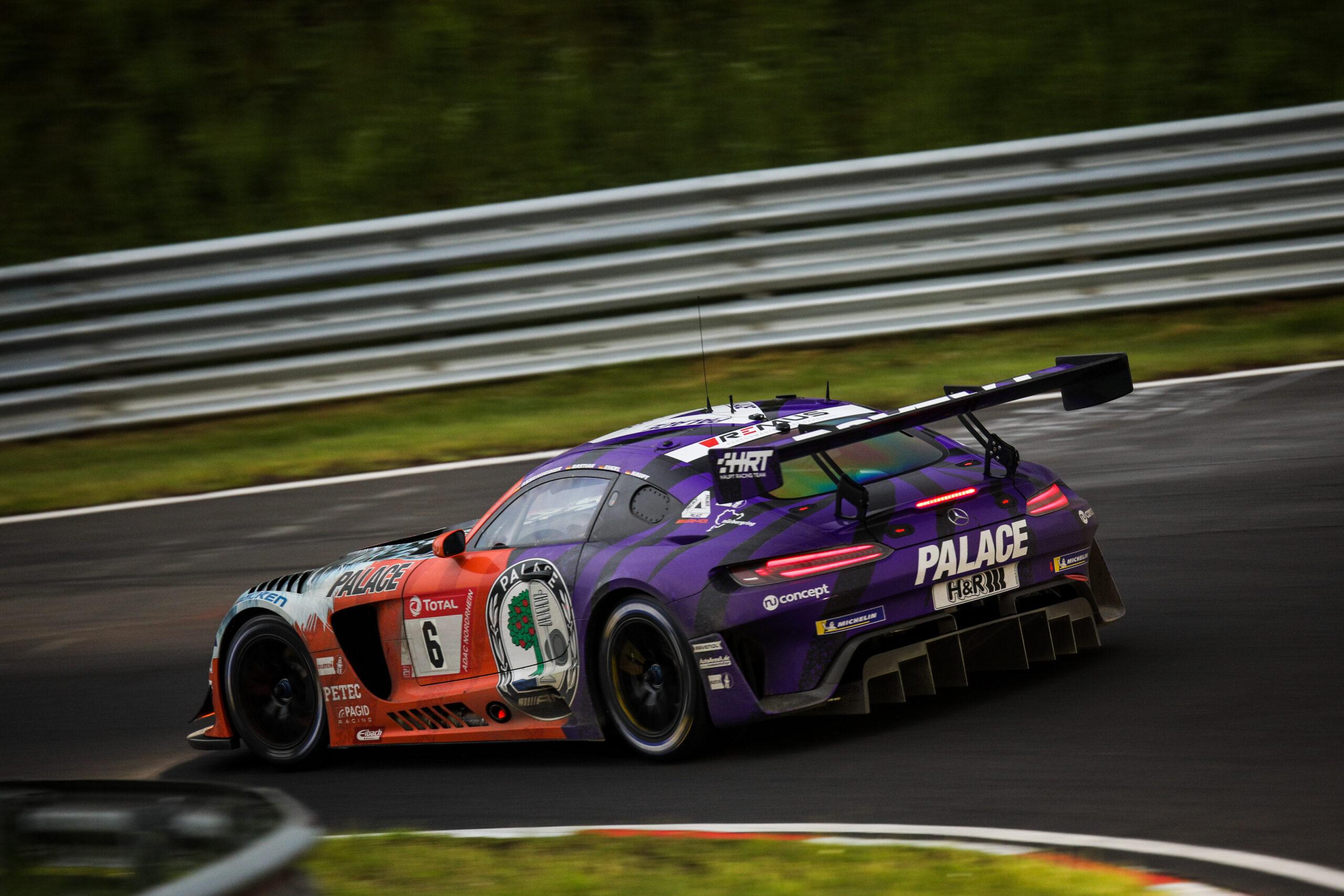 #24hnbr: Mercedes-AMG mit drei Plätzen in den Top-Ten