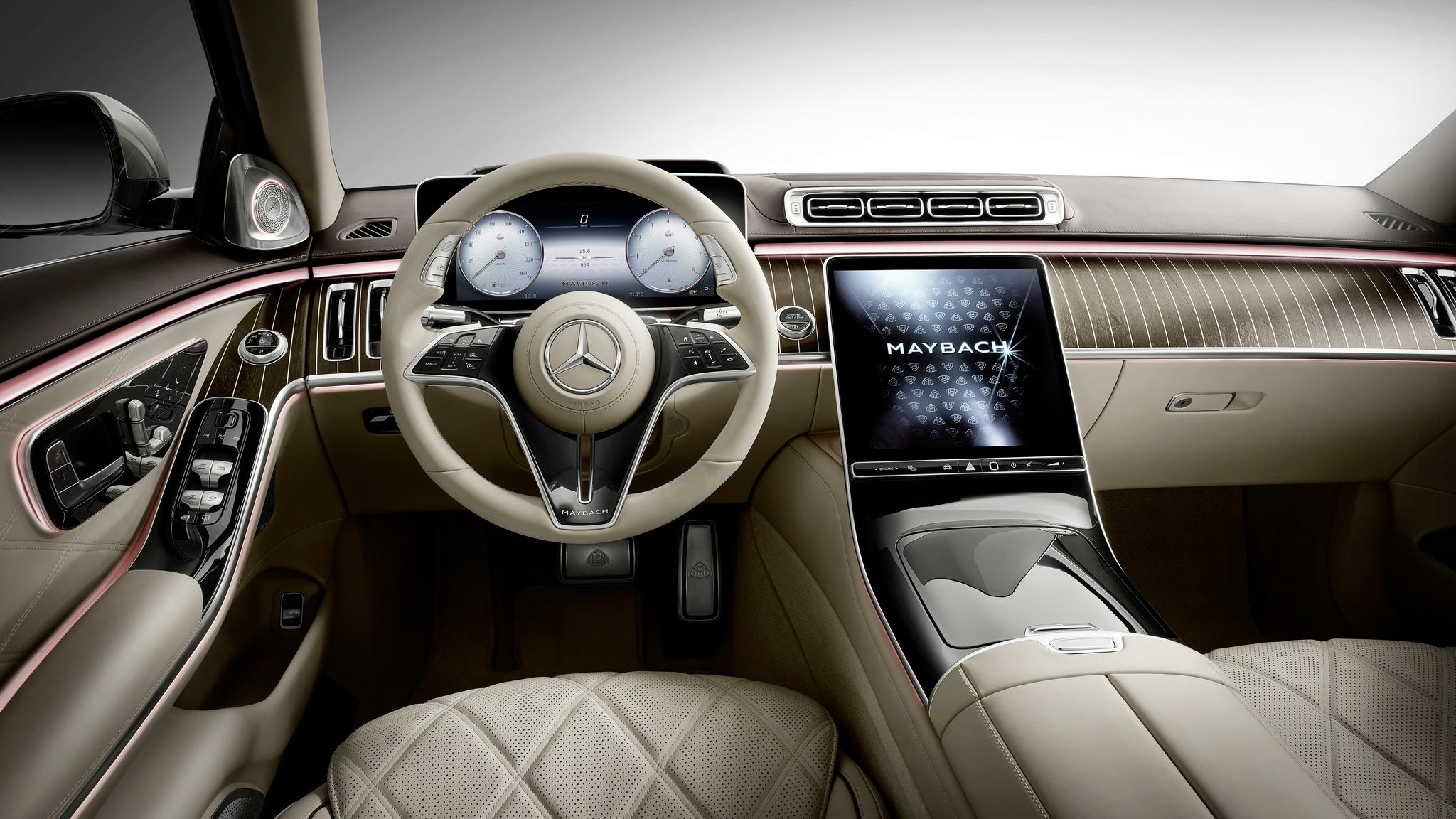 Erste offizielle Bilder der neuen Mercedes-Maybach S-Klasse #Z223