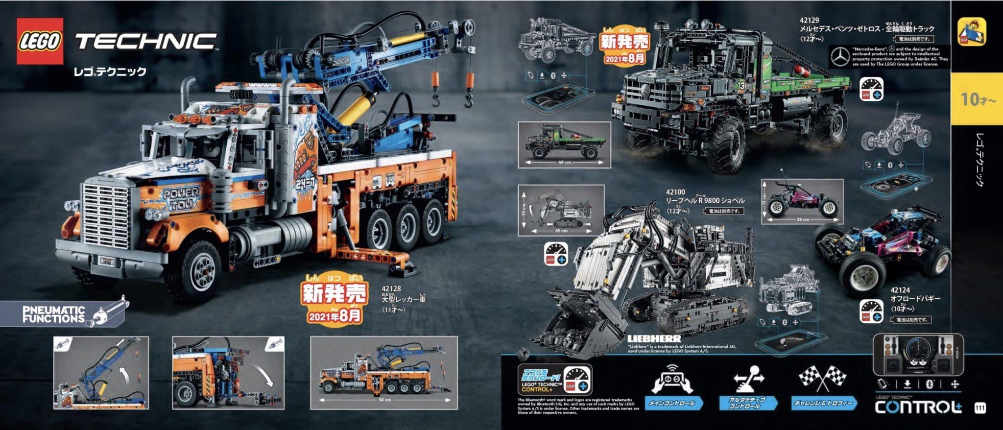 LEGO bringt Mercedes-Benz Zetros Bausatz - erste Bilder